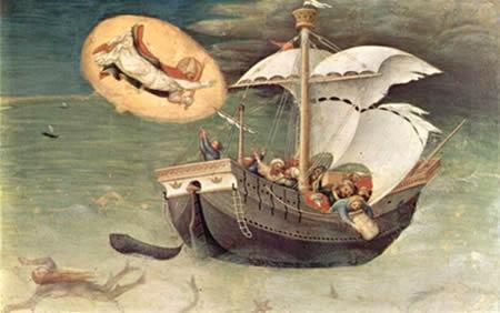 Николай Угодник спасает моряков